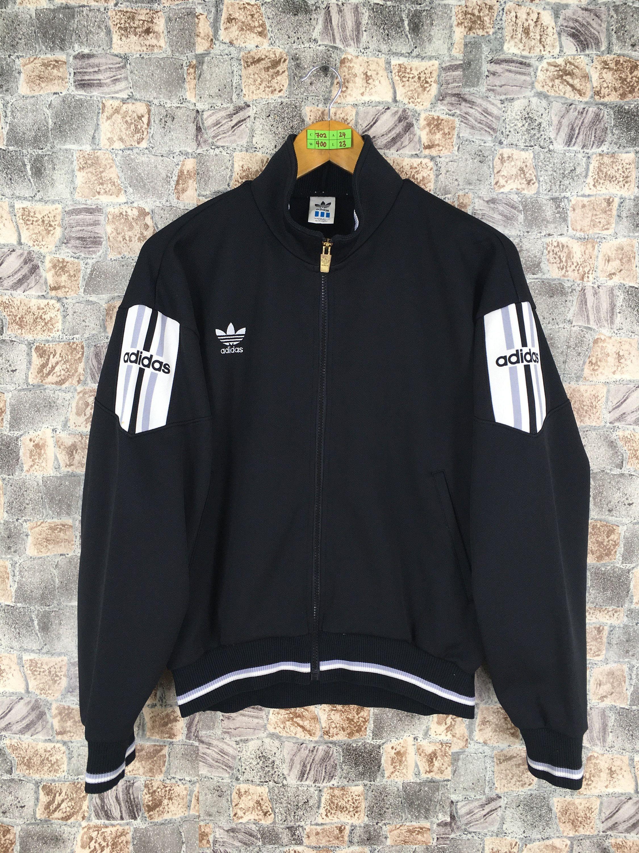 Vintage 90's ADIDAS Track Top Jacket Medium Adidas Trefoil