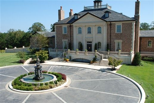 Strange Fountainview Mansion In Auburn Al Elegant Exteriors Download Free Architecture Designs Rallybritishbridgeorg