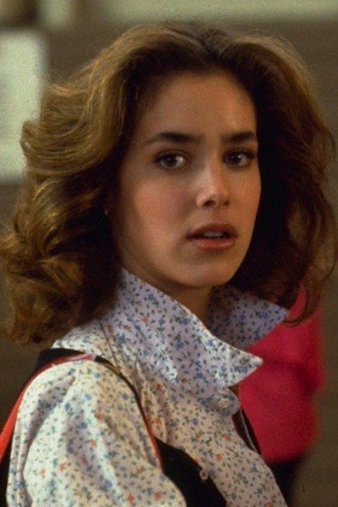 Claudia Wells As Jennifer Parker Back To The Future Claudia