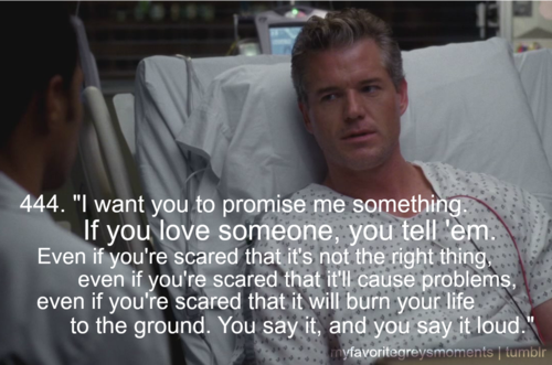 My Favorite Greys Moments Mcsteamy Marks Love For Lexie