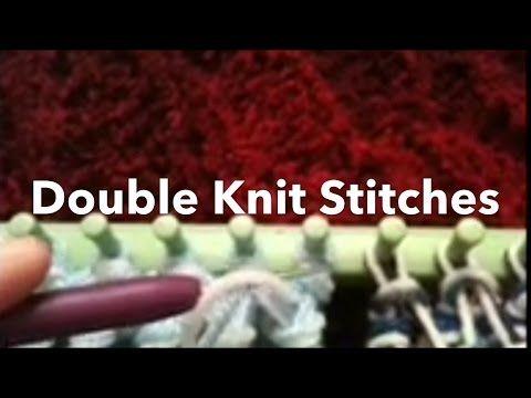 Loom Knitting Stitches Loom Knitting Stitch And Loom Knitting