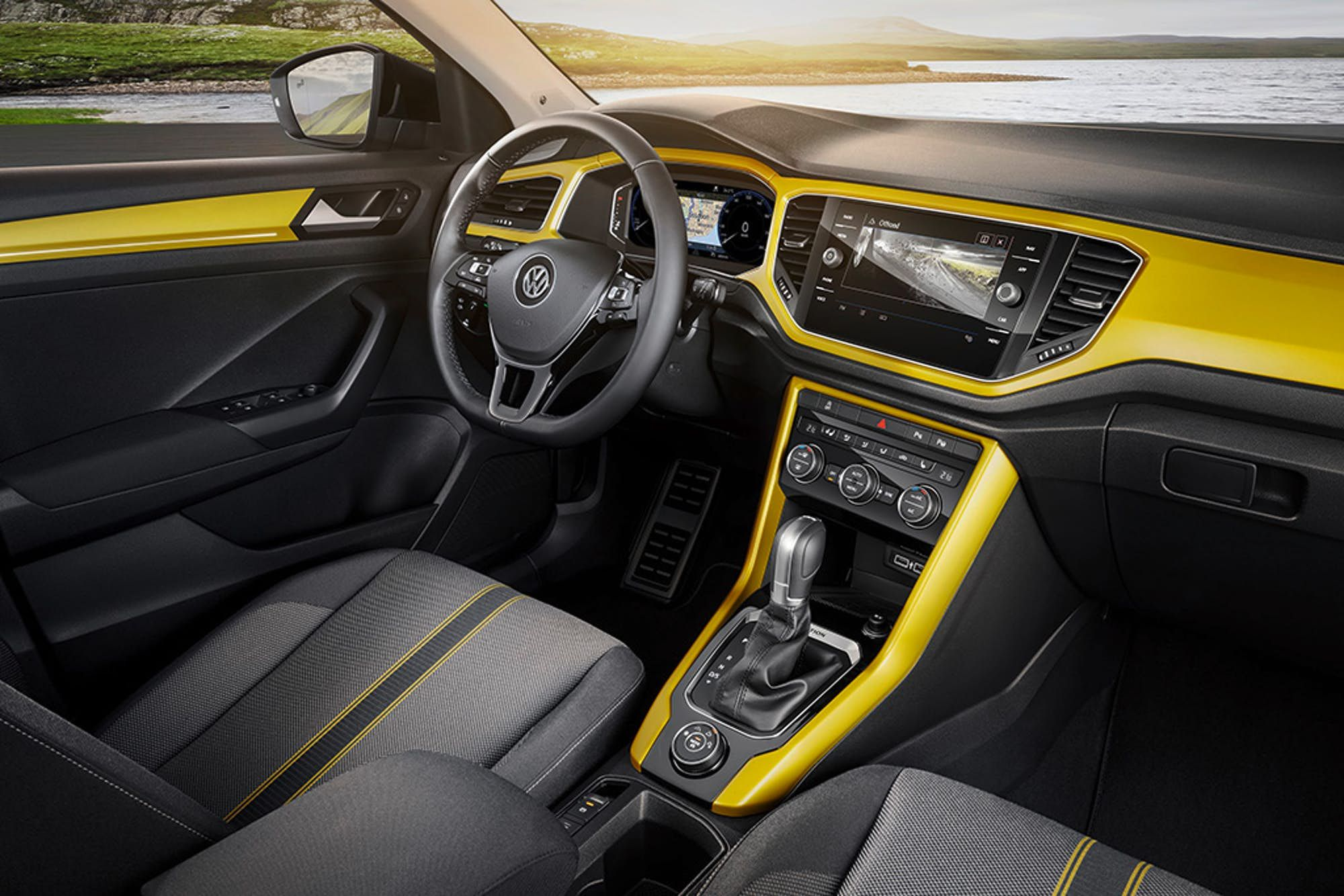 Volkswagen Shrinks And Sharpens Its Suv Lineup With All New T Roc Volkswagen Volkswagen Models Compact Suv