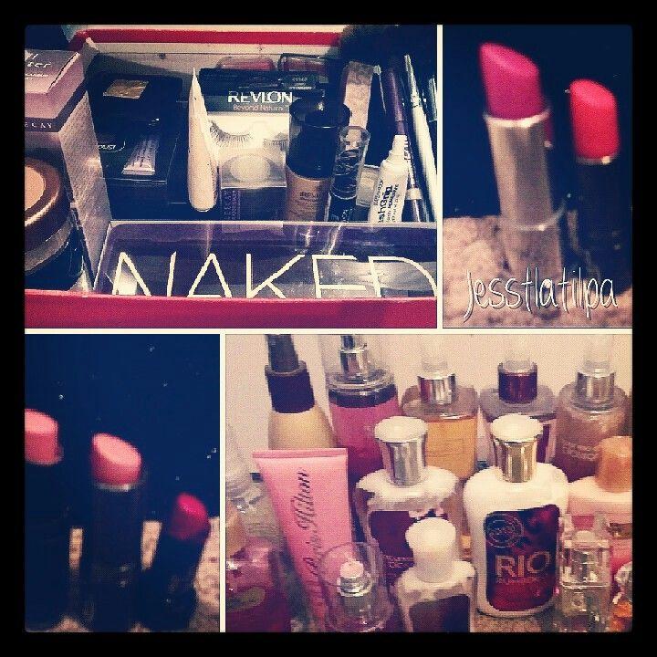 All sorts of makeup including Urban Decay,Mac, Estelaudeer, Revlon,Avon,Ulta,Maybelline, Icing,Loreal,Rimmel London,Cover girl