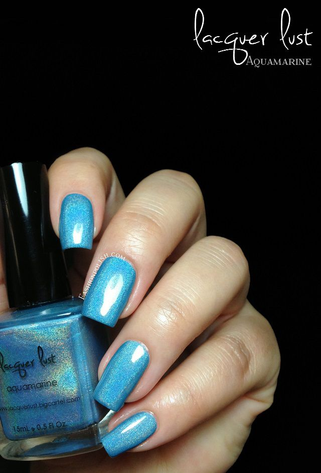 Lacquer Lust Birthstone Aquamarine ( March ) | Nails & Make-up ...