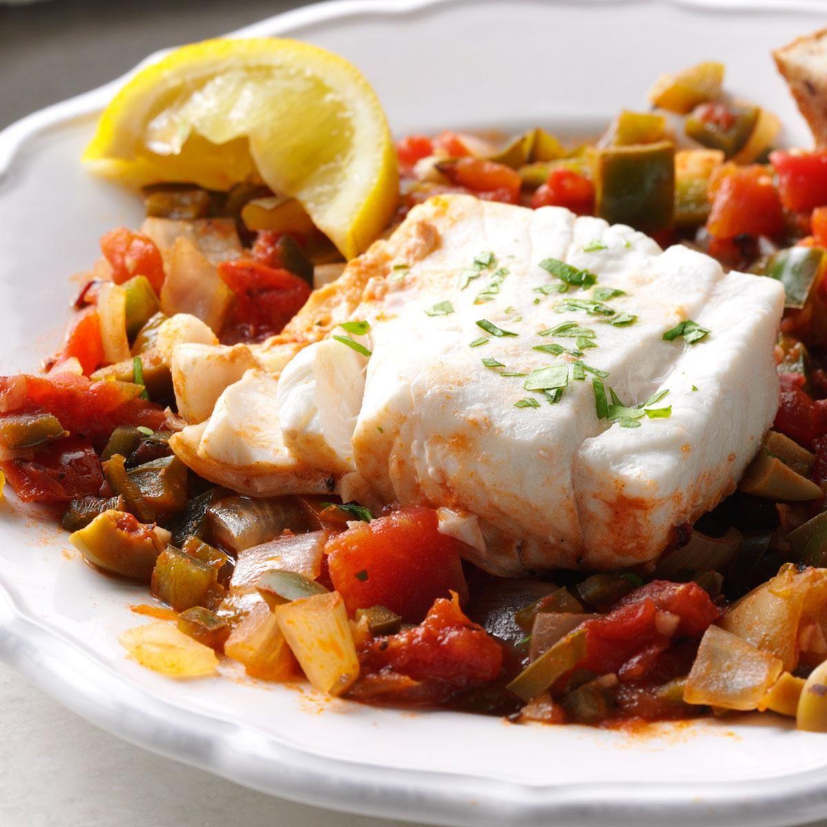 Tomatopoached halibut recipe halibut recipes recipes