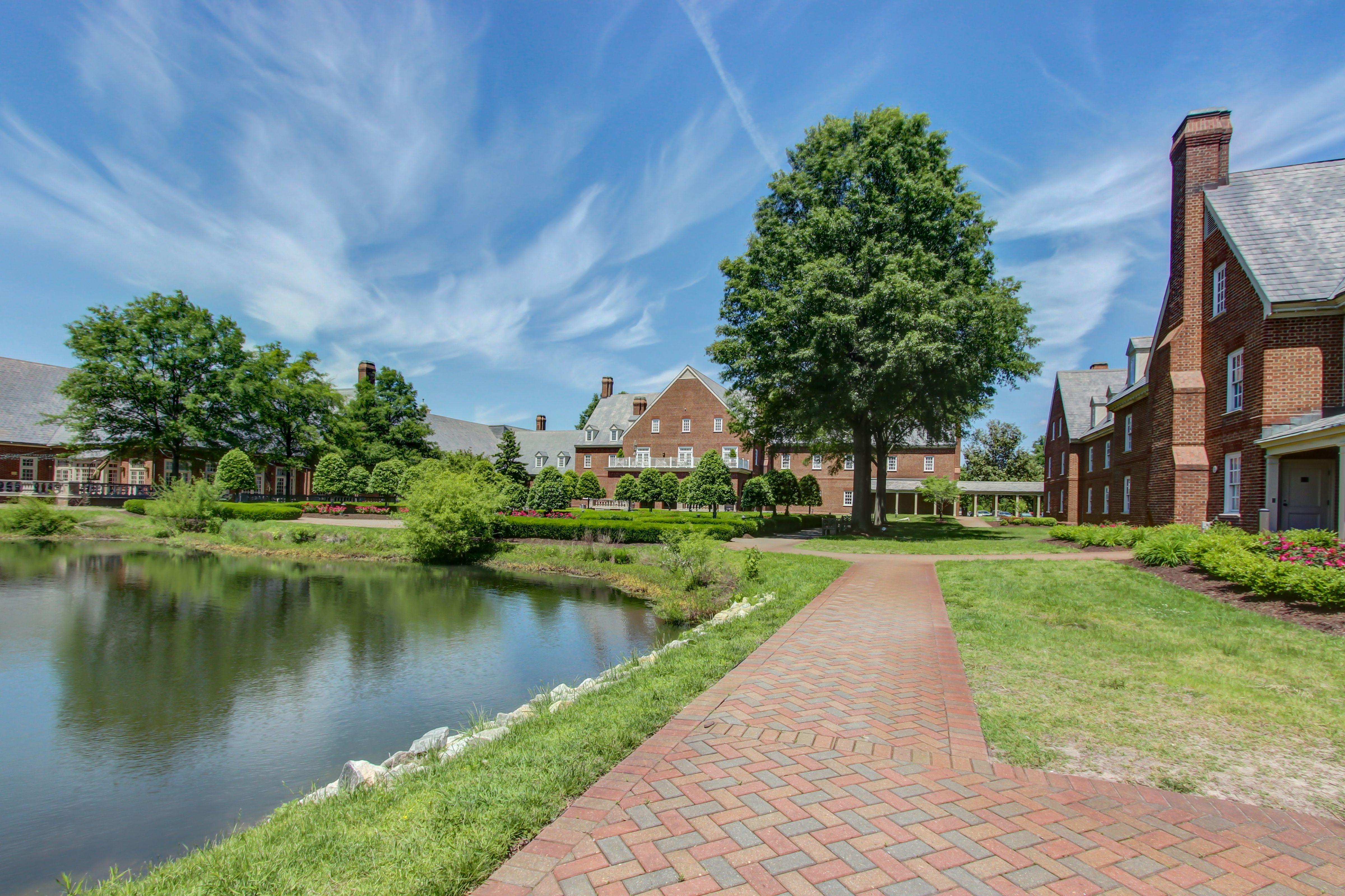 The Founders Inn and Spa Virginia Beach VA   English Gardens   The ...
