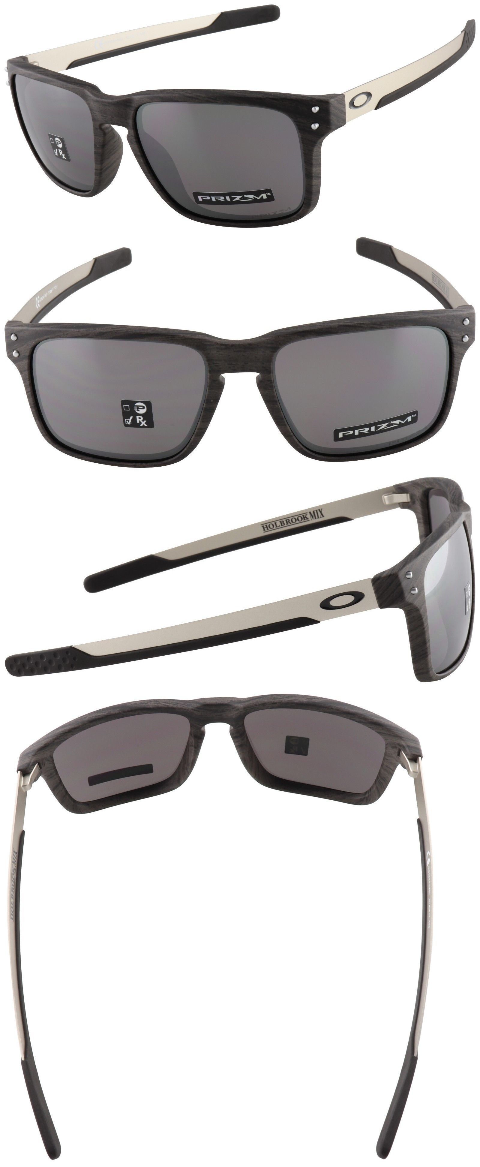 056d0d79814 Mens Accessories 4250  Oakley Holbrook Mix Sunglasses Oo9384-0457 Woodgrain
