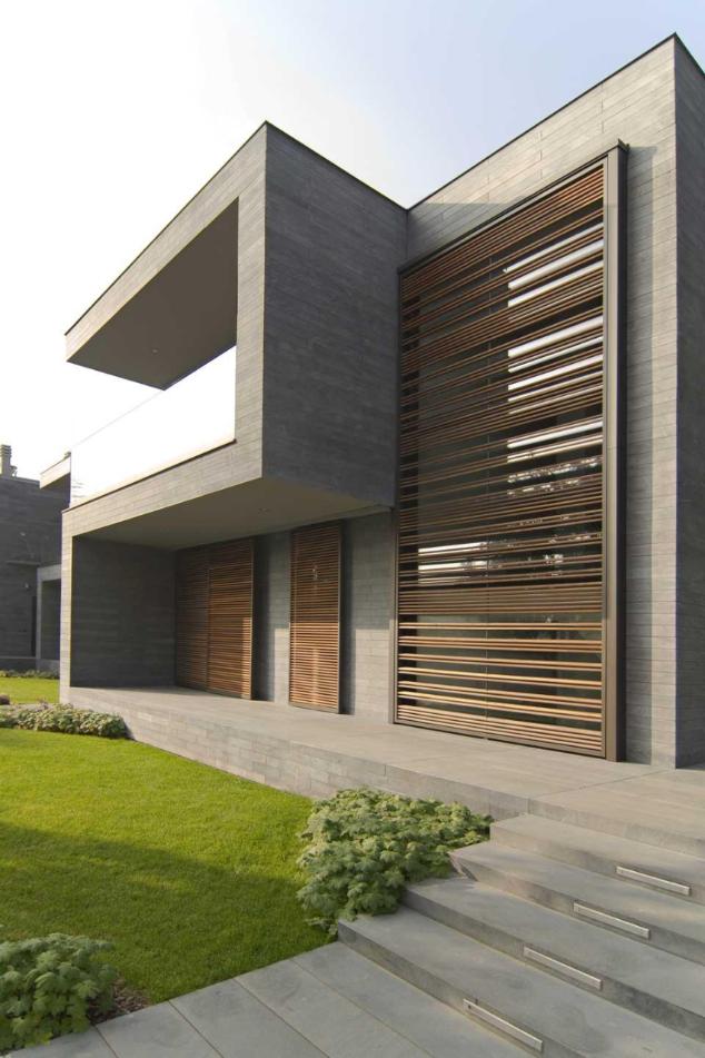 Blast architetti tre abitazioni unifamiliari for Casa quinta minimalista