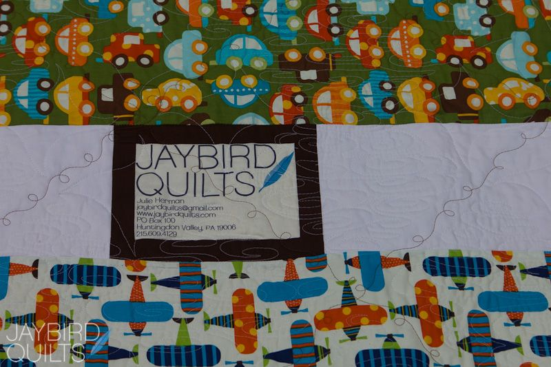 A Little Birdie Told Me All About Quilt Backs Extra Fabric