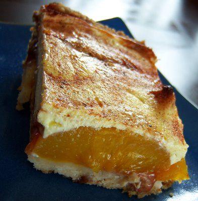 What A Dish Sour Cream Peach Kuchen Peach Kuchen Kuchen Recipe Food Processor Recipes