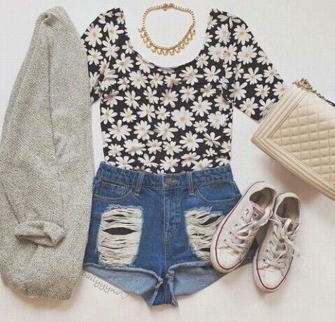 80fe0ec36a2 Image via We Heart It  clothes  fashion  outfits  style  stylish  summer   summerfashion  summertime  summeroutfit  benimstilim