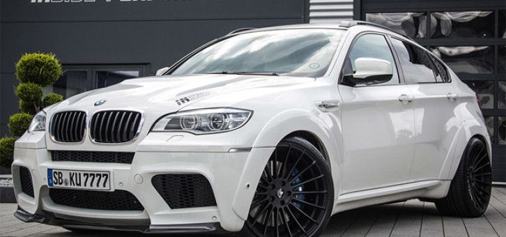 Inside Performance presents its modified BMW X6 M
