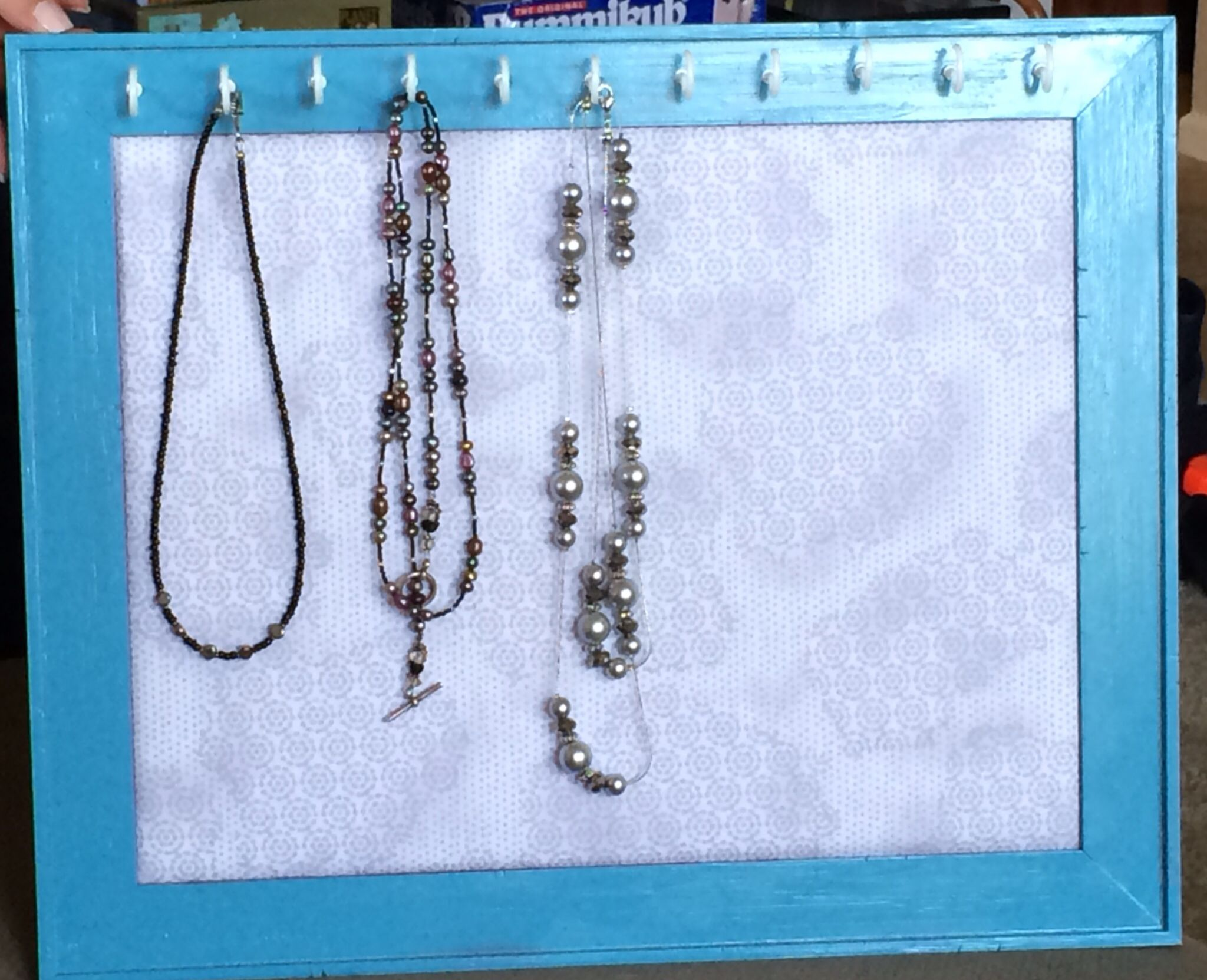 Craft mission accomplished jewelry organizer Took a beat up