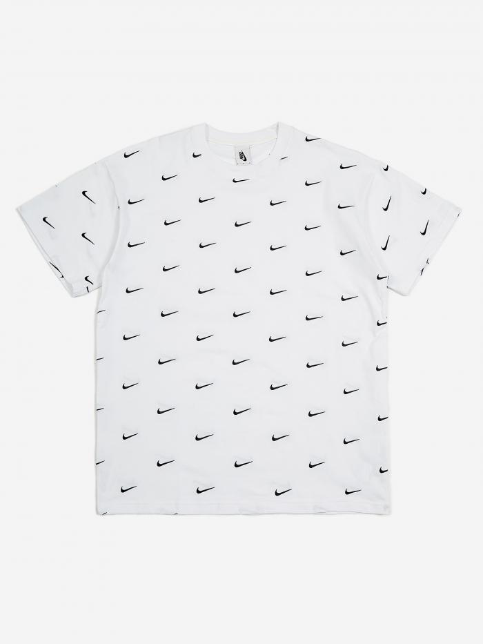 Nike NRG Swoosh Logo TShirt White in 2020 Shirts