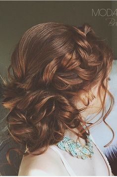The Perfect Updo For A Bohemian Bride Its All Braids And Undone Feel