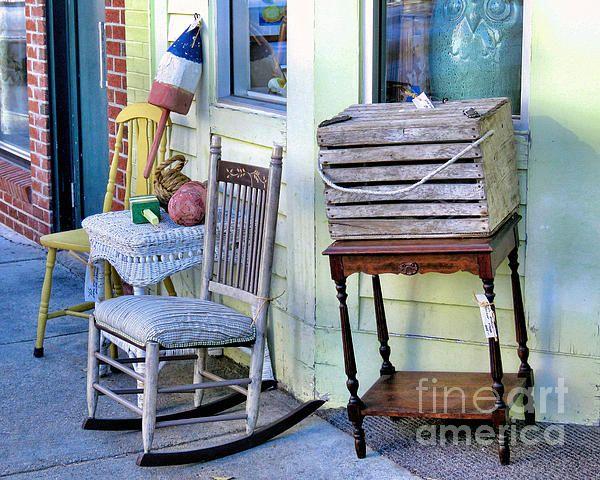 Sidewalk sale - Janice Drew