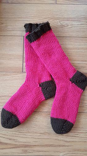 Echosierrans Bulky Sleep Socks Socks Knitting Socks And Yarns