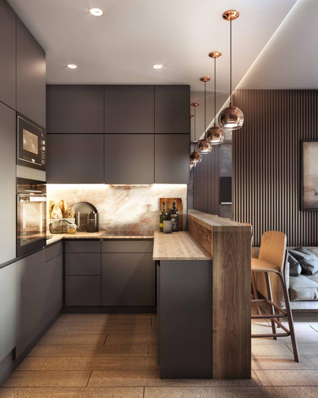 Дизайн кухни интерьер