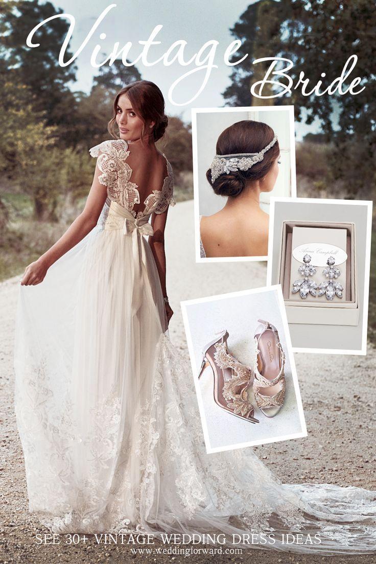 vintage inspired wedding dresses vintage inspired wedding