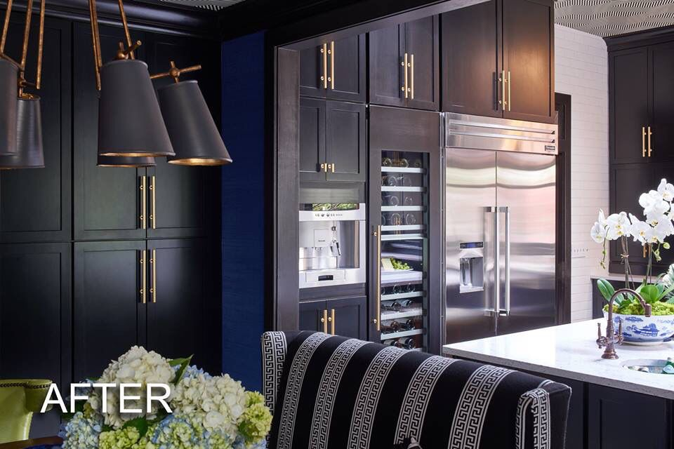 Kitchen & breakfast room designed by Lisa Monde Design