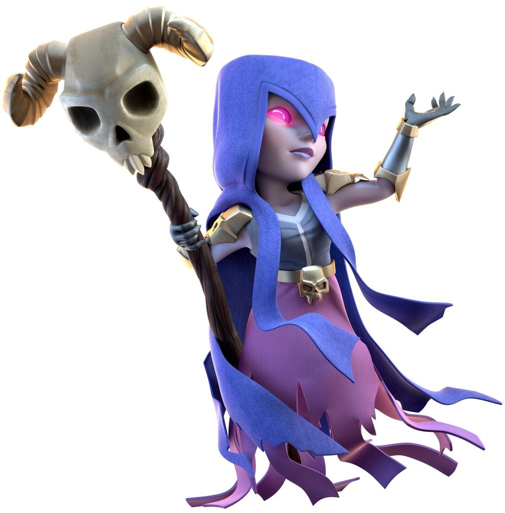 Clash-of-Clans-witch-1008x1024.jpg (1008×1024) | 3D ART ...