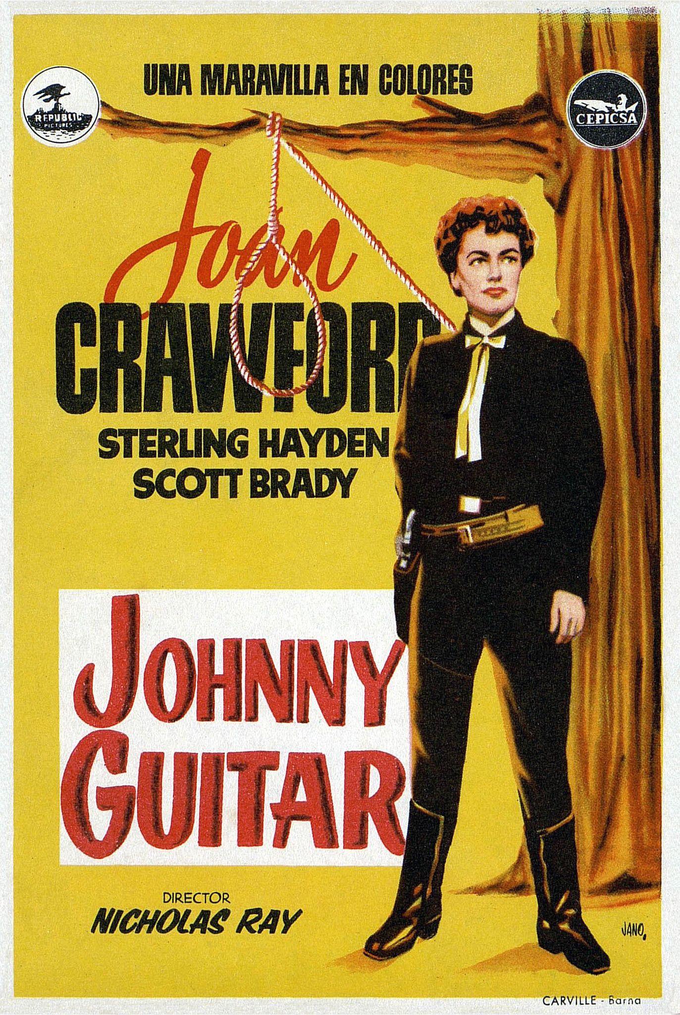Resultado de imagen de johnny guitar pelicula
