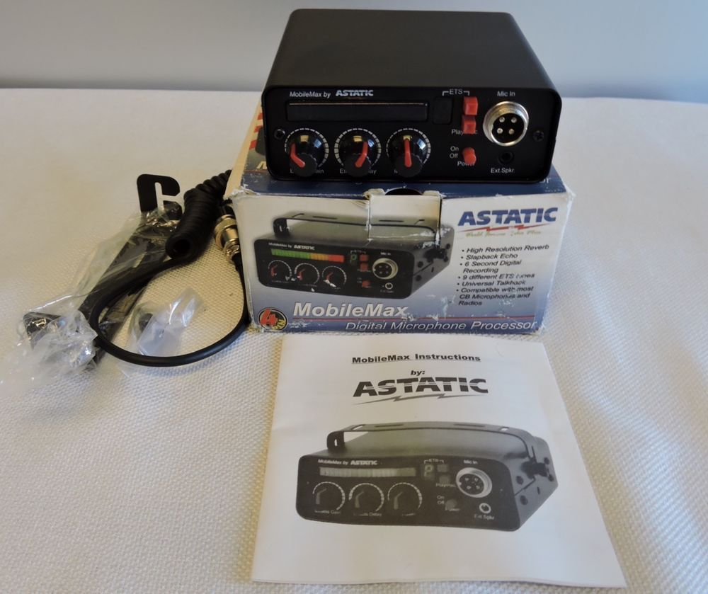 Astatic Mobilemax Digital Microphone Processor Iob Microphone Digital Microphones