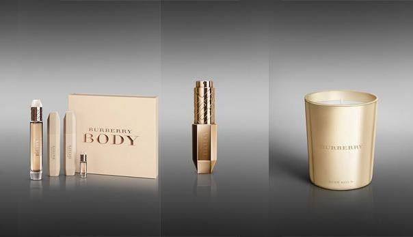 Burberry Beauty Gold Collection for Christmas 2013