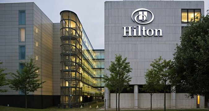 Hilton London Gatwick Airport Hotel Exterior