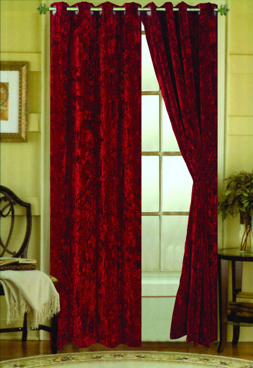 grey drop co curtain velvet uk amazon ring lined wide curtains top home dp kitchen silver x eyelet