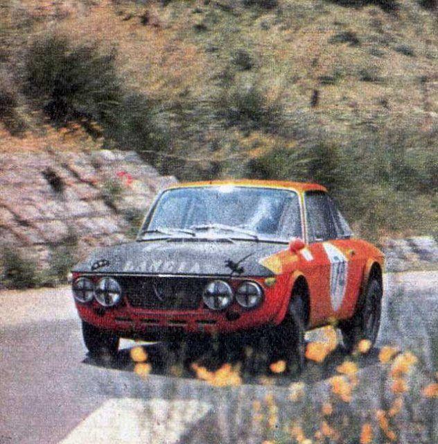 Pin di Sandro Campagna su LANCIA FULVIA HF | Rally car ...