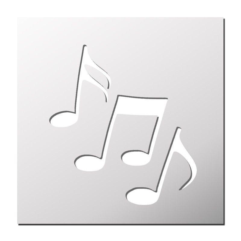 Pochoir Notes De Musique Pochoir Pochoir Pour Gâteau Et