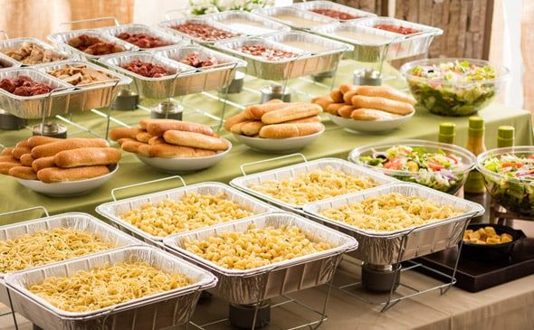 Create Your Own Pasta Station 50 Guests Pasta Bar Wedding