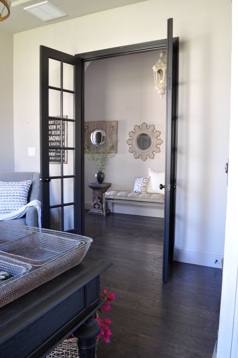 office french doors. Our Home Office French Doors W