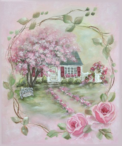 The beauty of a rose cottage <3