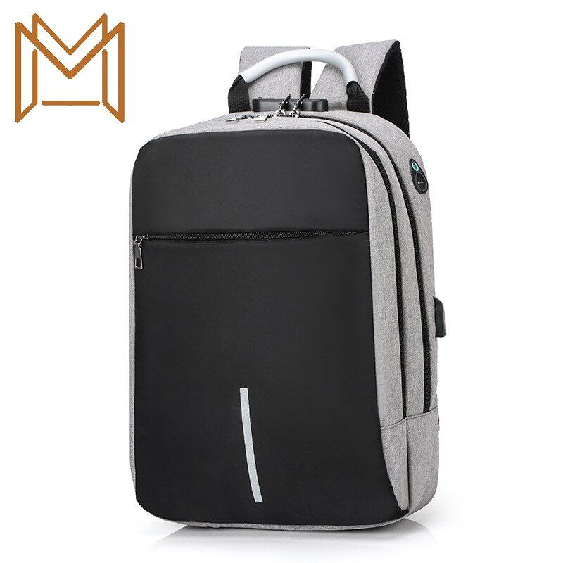 Guard Against Theft Computer Package Usb Charge Headset Both Shoulders Package Men Women Student Bag