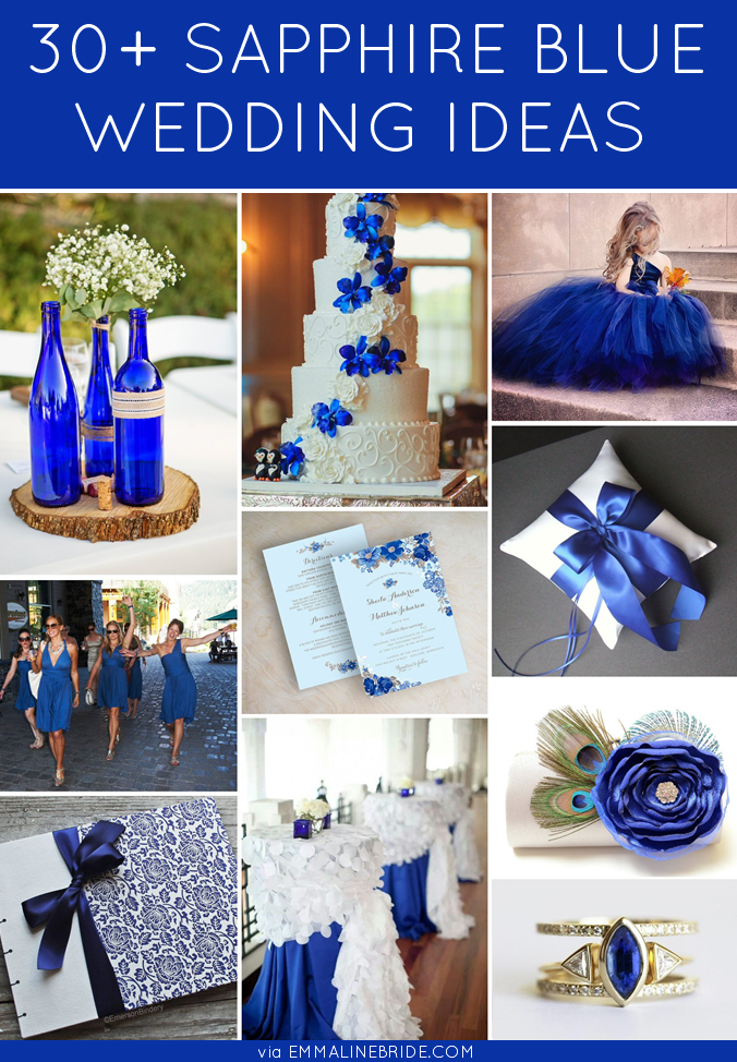 30 Sapphire Blue Wedding Ideas You Ll Want To Steal Sapphire