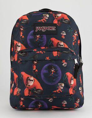 2ce0617d987 JANSPORT x Disney Pixar Incredibles 2 Family Time SuperBreak Backpack