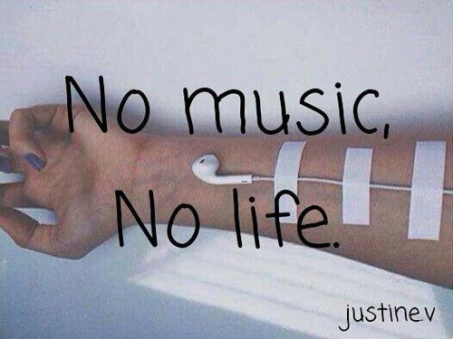No Music No Life Life Quotes Quotes Music Quote Life Tumblr True