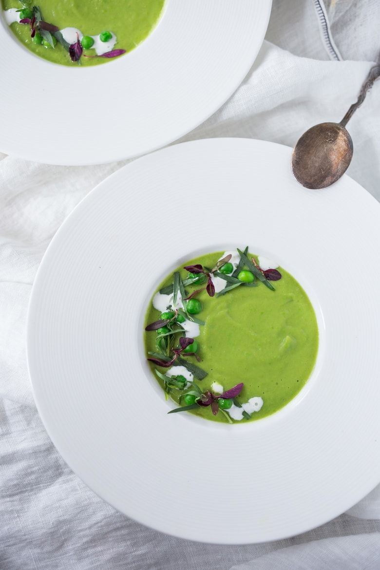 Spring Pea Soup With Fennel And Tarragon Feasting At Home Recipe Food Delicious Healthy Recipes Food Plating