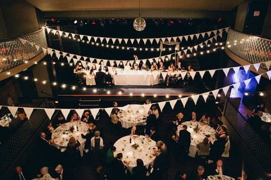 Wedding Venues In Nyc Music Hall Of Williamsburg