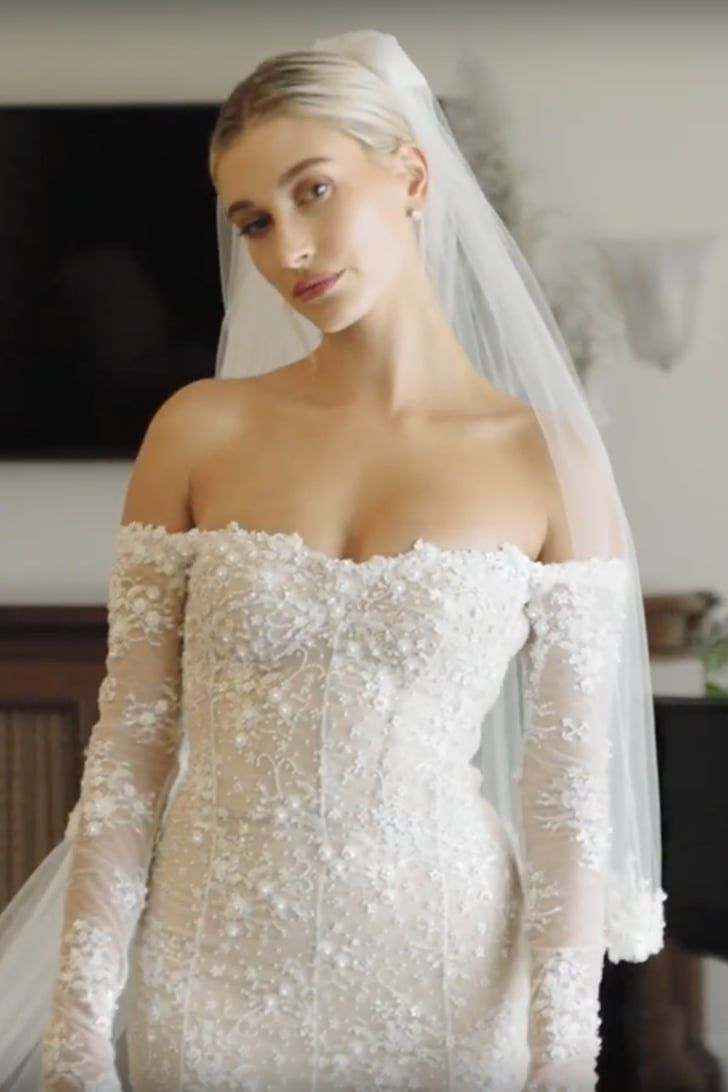 Whoa — Hailey Baldwin's Wedding Dress Has More Quirky Details Than We Thought – All Things Style