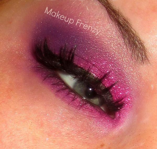 Pink Glittery look