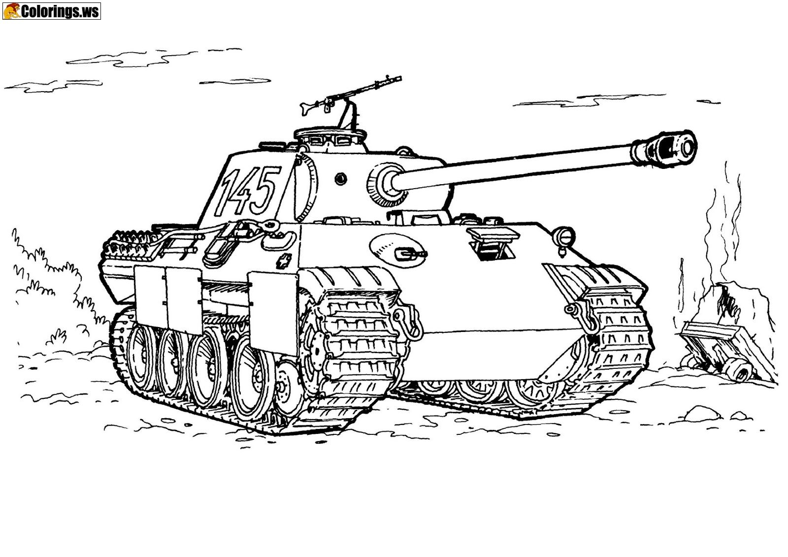 Gta 5 Tank Coloring Page Gta 5 Coloring Pages Thats True The