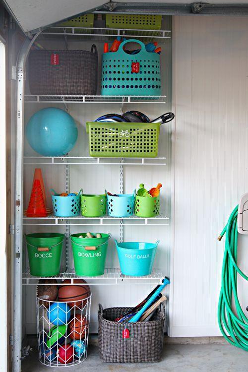 Garage Update Outdoor Toy Organization Via Bloglovin