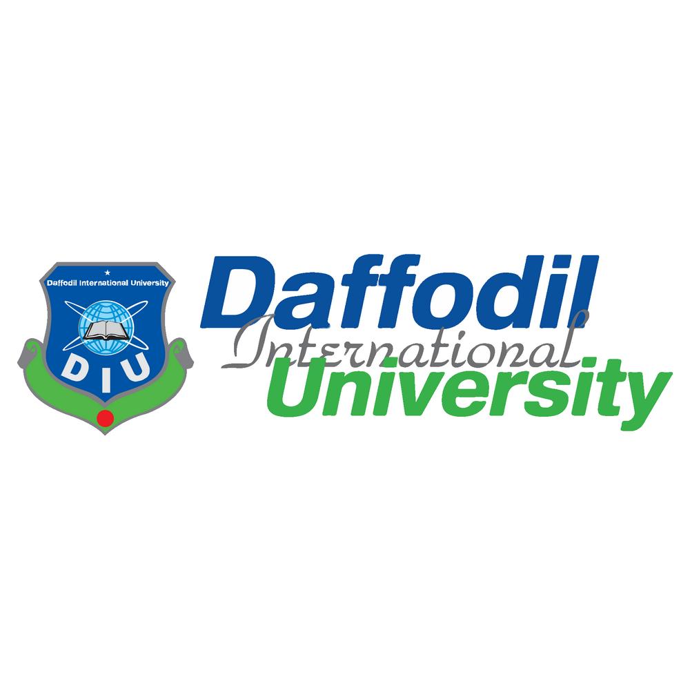 Daffodil International University Logo in 2021   University logo, International  university, University