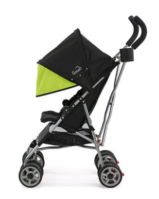 GracefulKids OneStep Folding Lightweight Stroller Adjustable Reclining// Footrest