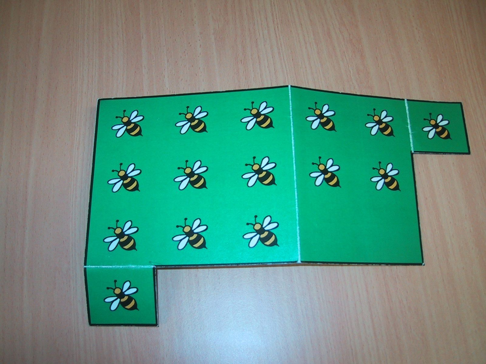 A physical representation of the use 10 addition strategy in mathematics.