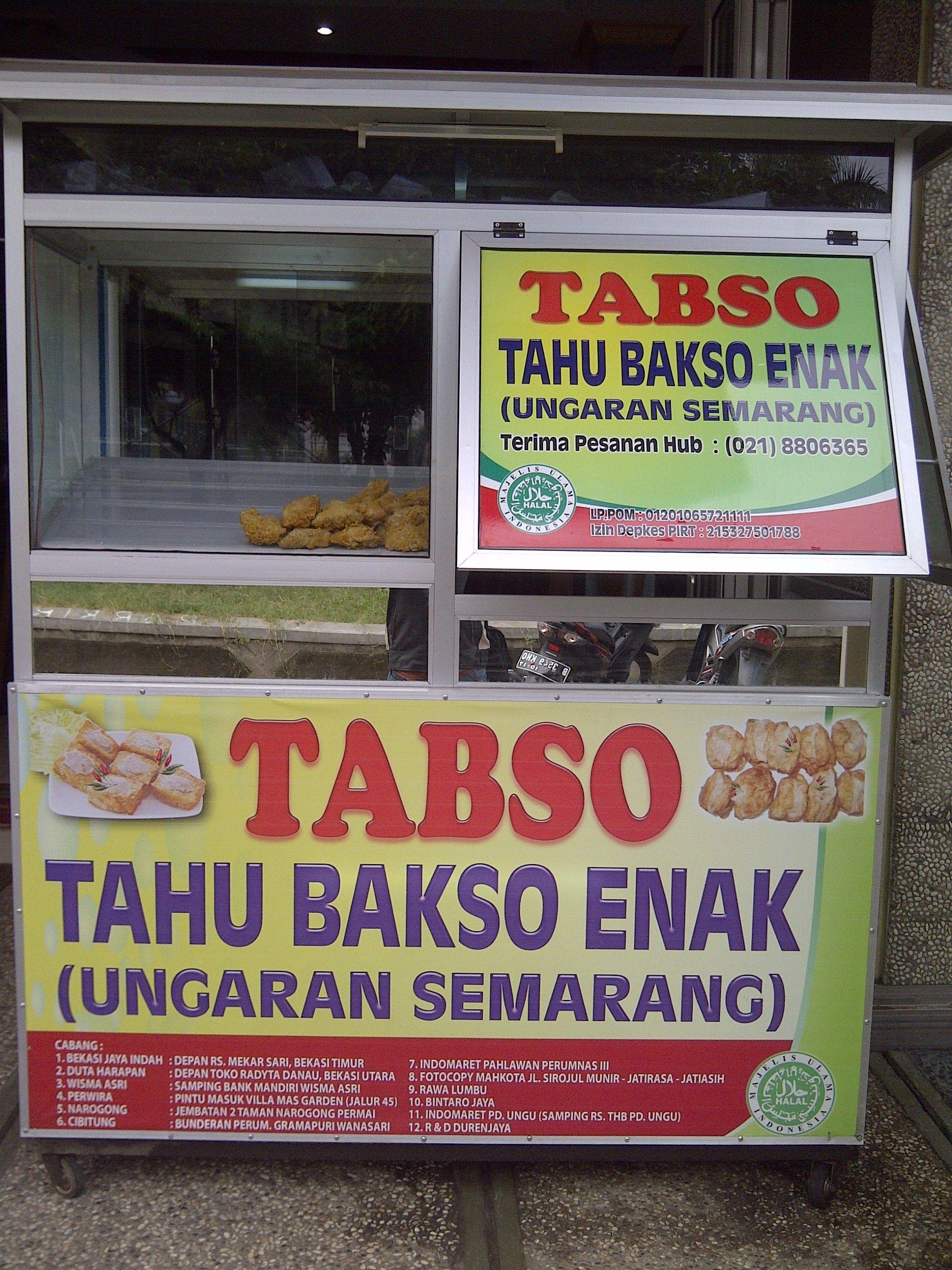 Contoh Spanduk Tahu Bakso Desain Banner Kekinian Cute766