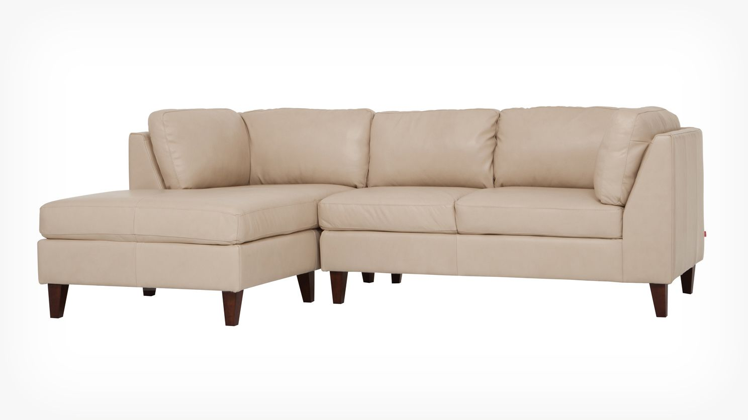 Salema 2 Piece Sectional Sofa With Chaise Leather Eq3